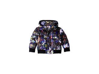 Appaman Kids Floral Print Hooded Puffy Coat (Toddler/Little Kids/Big Kids)