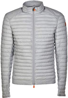 Save The Duck Save the Duck Dull Logo Patched Sleeve Padded Jacket