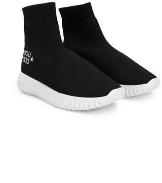 Douuod Kids slip-on high-top sneakers