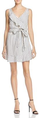 GUESS Gianna Ruffled Wrap Dress $108 thestylecure.com