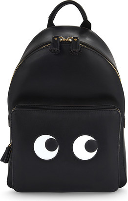 Anya Hindmarch Eyes leather backpack $940 thestylecure.com