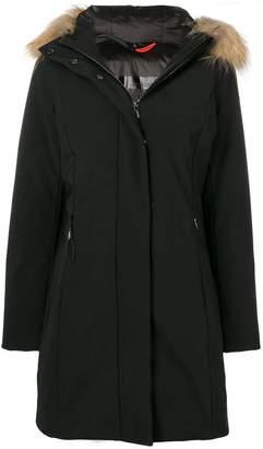 Rrd faux-fur trimmed hood jacket