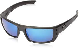 91ea38c259 Costa del Mar Rafael Sunglasses Blackout Blue Mirror 580Glass