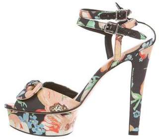 f062d0c450c Pre-Owned at TheRealReal · Loeffler Randall x Tucker Floral Platform Sandals