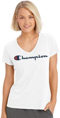 Champion Women's Authentic Burnout Short Sleeve Tee