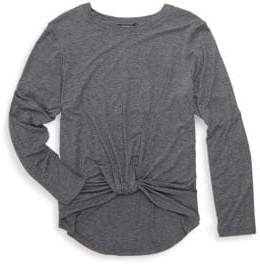 Girl's Twist Front Sweater