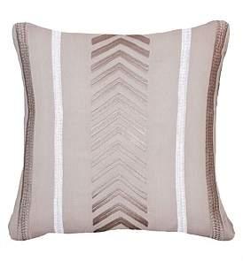 Bandhini Arrow Stripe Natural Cushion