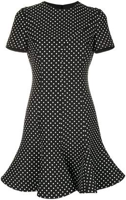 Valentino polka dot print dress