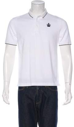 Dolce & Gabbana Woven Polo Shirt