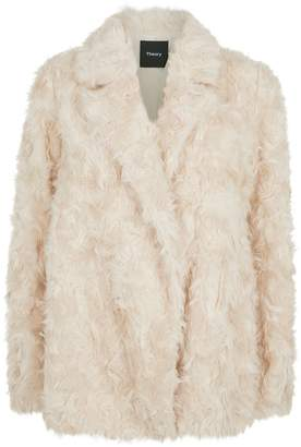 Theory Faux Fur Coat