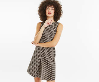 Oasis JACQUARD SHIFT DRESS