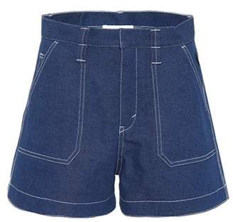 Chloé Flared denim shorts