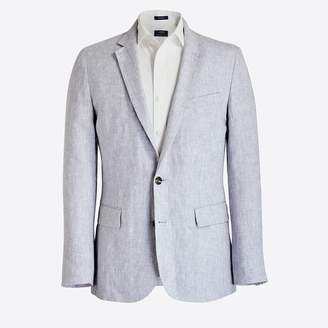 J.Crew Factory Thompson unstructured linen blazer