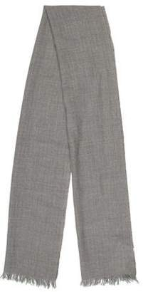 Valentino Wool Herringbone Knit Scarf w/ Tags