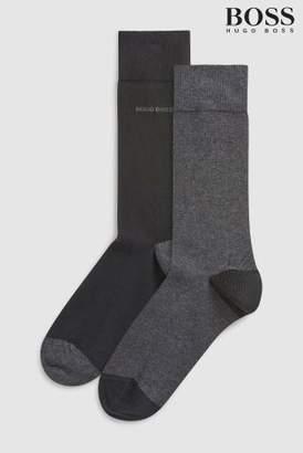 Next Mens BOSS Socks Two Pack
