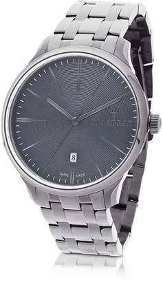 Maserati Attrazione Silver Tone Stainless Steel Men's Bracelet watch