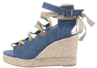 Castaner Denim Espadrille Wedges