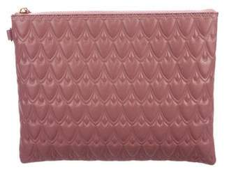 Reece Hudson Textured Leather Clutch