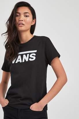 28a80f4b Vans Logo T Shirt Womens - ShopStyle UK