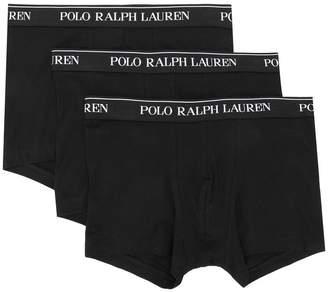 Polo Ralph Lauren pack of three logo band briefs