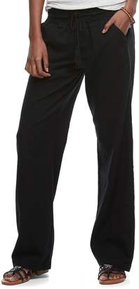 So Juniors' SO Wide-Leg Beach Pants