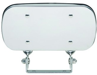 """CL100 - Fit System HD 4"""" x 8"""" Over door convex mirror. 4"""" x 8"""" Clamp-on Spot Mirror"""