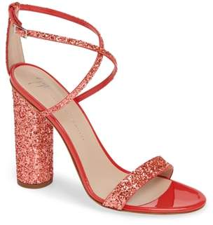 Giuseppe Zanotti Glitter Heel Sandal