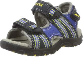 Geox Boy's JR Sandal Strada BOY Athletic Sandals