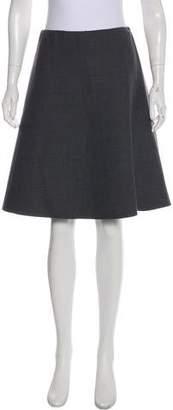 Christian Dior Virgin Wool Wrap Skirt
