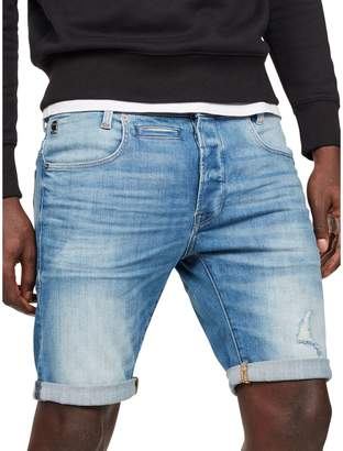G Star Raw D-Staq Denim Slim Shorts
