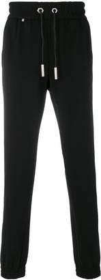 Philipp Plein stripe detail track pants