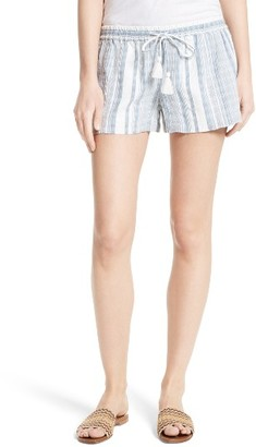 Women's Soft Joie Josip Cotton Shorts $128 thestylecure.com