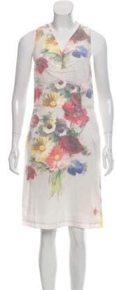 Celine 2017 Floral Print Dress w/ Tags