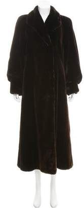 Galanos Vintage Sheared Mink Coat