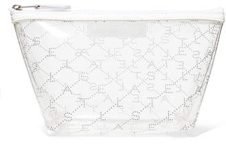 Stella McCartney (ステラ マッカートニー) - Stella McCartney - Faux Leather-trimmed Pu Cosmetics Case - White