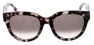 Celine Audrey Tortoiseshell Sunglasses