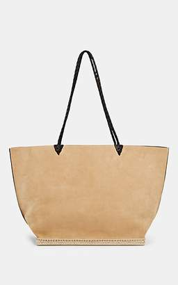 Altuzarra Women's Espadrille Large Suede Tote Bag - Brown