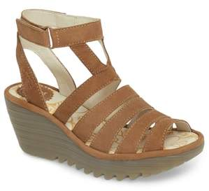 Fly London Yeba Wedge Sandal