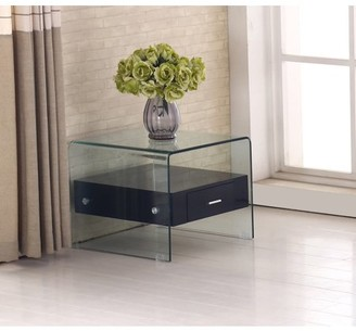 Best Quality Furniture End Table With a Drawer in multiple Colors