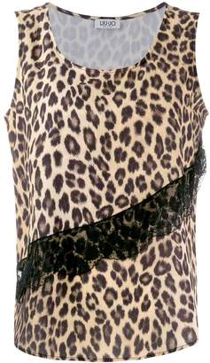 Liu Jo leopard print vest