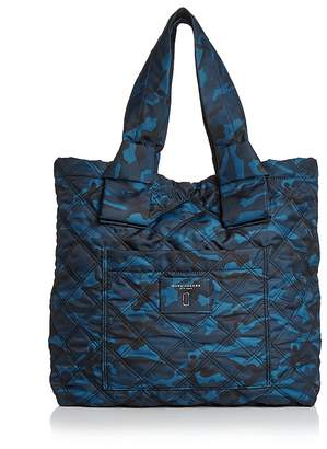 MARC JACOBS Knot Camo Print Nylon Tote $275 thestylecure.com