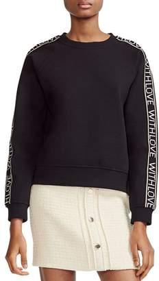 6403d46600 Maje Black Women s Sweatshirts - ShopStyle