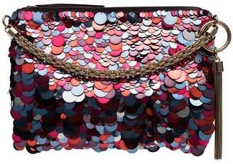 Jimmy Choo Callie sequin shoulder bag