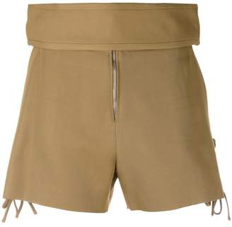 IRO thick waistband shorts