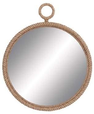 Benzara Wd Pier Rope Mirror 36-Inch D