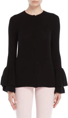 Giamba Wool Bell Sleeve Cardigan