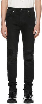 Ksubi Black Chitch Distressed Jeans