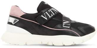 Valentino Heroes Her Vltn Knit Sneakers