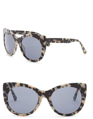 Joe's Jeans Women's Modified Cat Eye 56mm Sunglasses