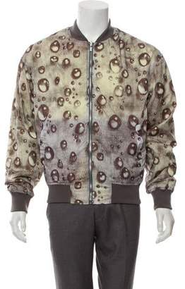 Rochambeau Bubble Print Bomber Jacket w/ Tags